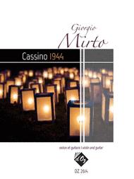 Cassino 1944 Sheet Music by Giorgio Mirto