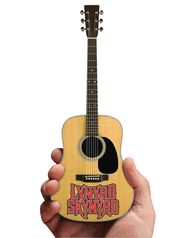 Lynyrd Skynyrd - Acoustic Guitar with Logo (Natural Wood Finish) Sheet Music by Lynyrd Skynyrd