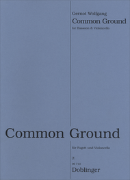 Common Ground Sheet Music by Gernot Wolfgang