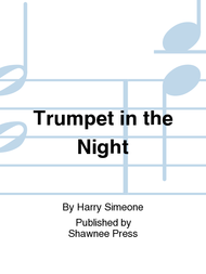 Trumpet in the Night Sheet Music by Harry Simeone