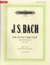 The Art of Fugue Vol. 2: Later Version Sheet Music by Johann Sebastian Bach
