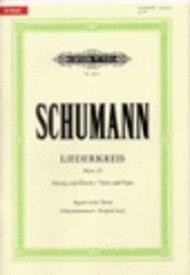 Liederkreis Op. 39 Sheet Music by Robert Schumann