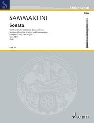 Sonata in G major op. 13/4 Sheet Music by Giovanni Battista Sammartini