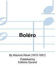 Bolero Sheet Music by Maurice Ravel