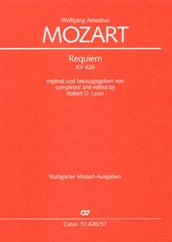 Requiem Sheet Music by Wolfgang Amadeus Mozart