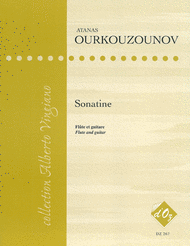 Sonatine Sheet Music by Atanas Ourkouzounov