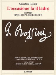 L'occasione Fa Il Ladro Sheet Music by Gioachino Rossini