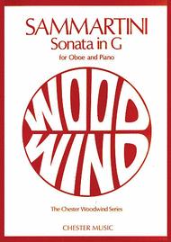 Sonata In G Sheet Music by Giovanni Battista Sammartini