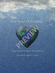 For Love of Country Sheet Music by Edwin T. Childs