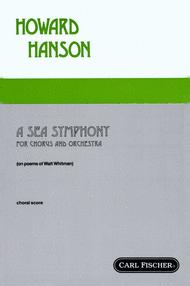 A Sea Symphony Sheet Music by Howard Hanson
