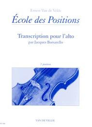 Ecole Des Positions 3rd Sheet Music by Ernest Van de Velde / Jacques Borsarello