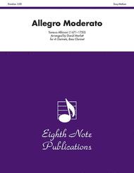 Allegro Moderato Sheet Music by Tomaso Giovanni Albinoni