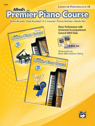 Alfred's Premier Piano Course: General MIDI Disks for Lesson & Performance Level 1B Sheet Music by Dennis Alexander