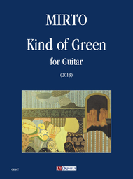 Kind of Green for Guitar (2013) Sheet Music by Giorgio Mirto
