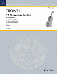 12 Morceaux faciles op. 4 Vol. 2 Sheet Music by Arnold Trowell
