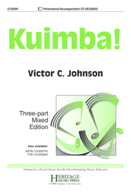 Kuimba! Sheet Music by Victor C Johnson