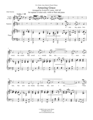 Amazing Grace Sheet Music by Evelyn R. Larter