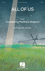 All of Us Sheet Music by Craig Hella Johnson