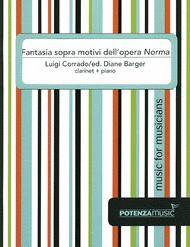 Fantasia sopra motivi dell'opera Norma Sheet Music by Luigi Corrado