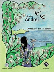 20 regards sur six cordes Sheet Music by Adrian Andrei