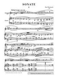 Sonata Sheet Music by Paul Hindemith