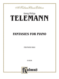 Fantasies For Piano Sheet Music by Georg Phillipp Telemann