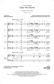 Take Me Home (arr. Roger Emerson) Sheet Music by Audra Mae