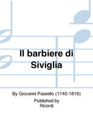 Il barbiere di Siviglia Sheet Music by Giovanni Paisiello