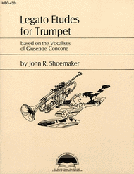 Legato Etudes for Trumpet Sheet Music by Giuseppe Concone