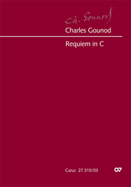 Requiem in C major Sheet Music by Charles Francois Gounod