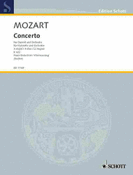 Concerto A major KV 622 Sheet Music by Wolfgang Amadeus Mozart