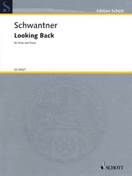 Looking Back Sheet Music by Joseph Schwantner