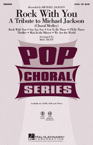 Rock with You - A Tribute to Michael Jackson (Medley) Sheet Music by Michael Jackson