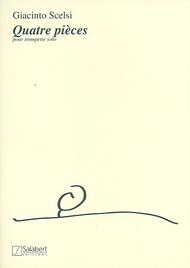 Quattro pezzi Sheet Music by Giacinto Scelsi