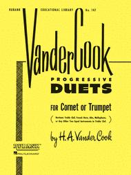 Vandercook Progressive Duets for Cornet or Trumpet Sheet Music by H.A. VanderCook