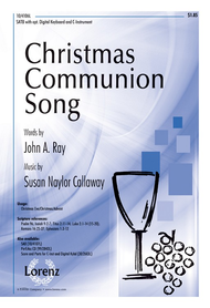 Christmas Communion Song Sheet Music by Susan Naylor Callaway