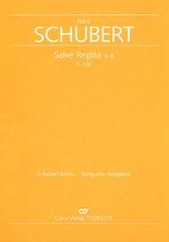 Salve Regina in B-Flat major Sheet Music by Franz Schubert