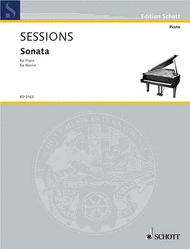Sonata Sheet Music by Roger Huntington Sessions