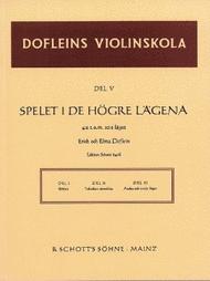 Dofleins Violinskola Band 5 Sheet Music by Elma Doflein