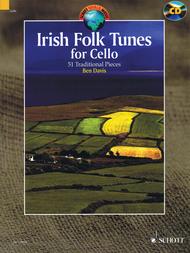 Irish Folk Tunes for Cello Sheet Music by Various