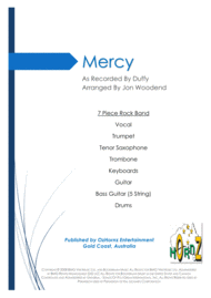 Mercy Sheet Music by Duffy