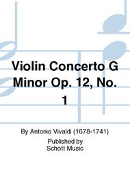 Concerto G Minor op. 12/1 RV 317 / PV 343 Sheet Music by Antonio Vivaldi