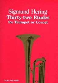 Thirty-Two Etudes Sheet Music by Sigmund Hering