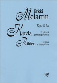 Kuvia / Pictures Sheet Music by Erkki Melartin
