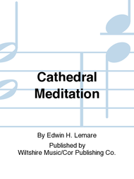 Cathedral Meditation Sheet Music by Edwin H. Lemare