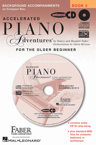 Accelerated Piano Adventures for the Older Beginner Sheet Music by Nancy Faber