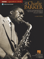 The Best of Charlie Parker - Saxophone Sheet Music by Charlie Parker