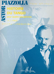 Histoire Du Tango Sheet Music by Astor Piazzolla
