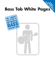 Bass Tab White Pages Sheet Music by Various