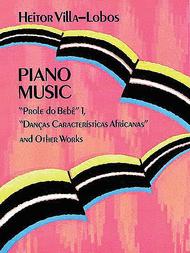 Piano Music Sheet Music by Heitor Villa-Lobos